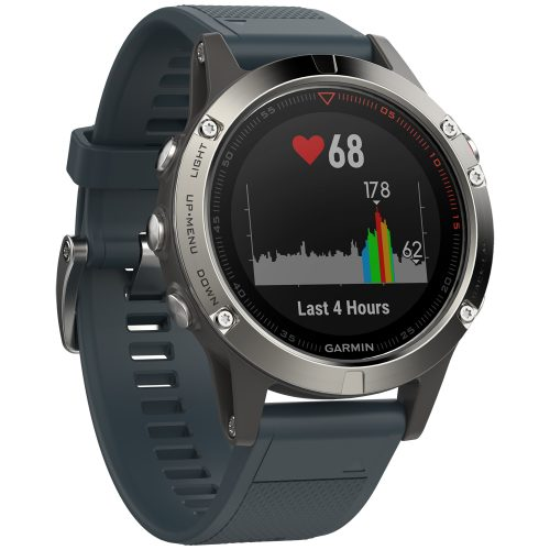 Garmin fenix 5 Granite Blue: Garmin Heart Rate Monitors