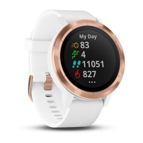 Garmin vivoactive 3 White/Rose Gold: Garmin GPS Watches