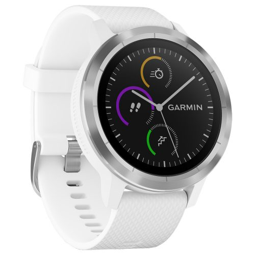 Garmin vivoactive 3 White/Stainless: Garmin GPS Watches