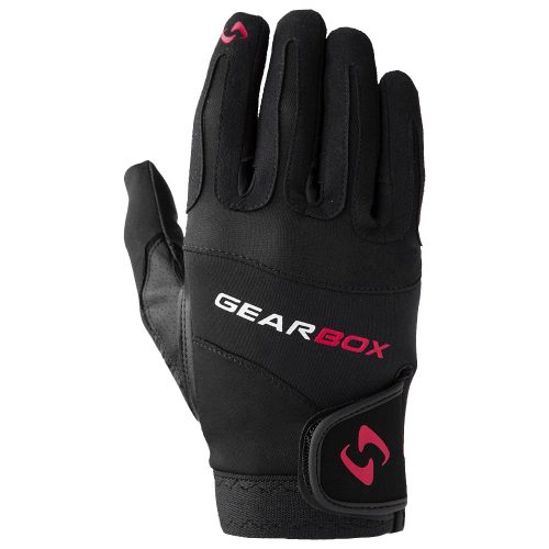 Gearbox Movement Glove Right Red: Gearbox Racquetball Gloves