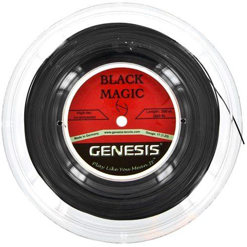 Genesis Black Magic 17G 660' Reel: Genesis Tennis String Reels