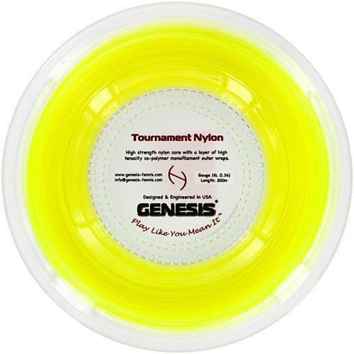 Genesis Tournament Nylon 15L 660' Reel: Genesis Tennis String Reels