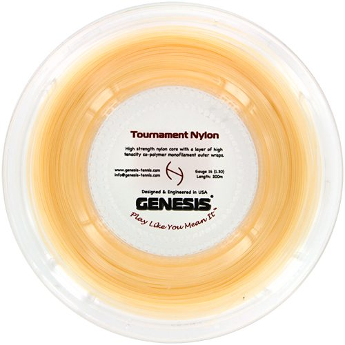 Genesis Tournament Nylon 16 660' Reel: Genesis Tennis String Reels