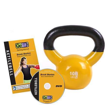 GoFit 10 lb. KettleBell - 1 ea
