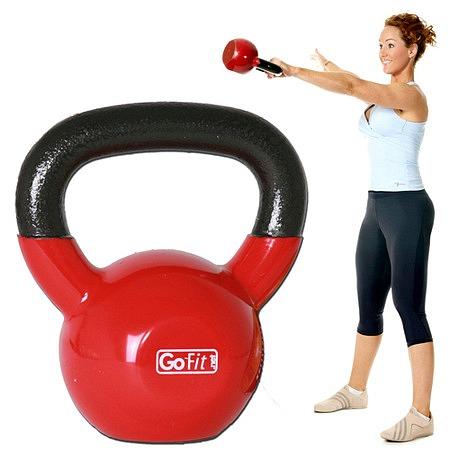 GoFit 15 lb. KettleBell - 1 ea.