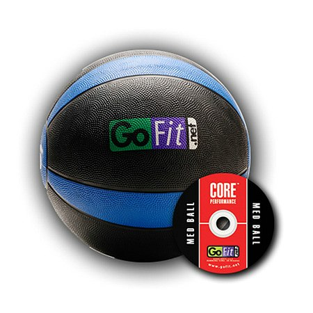 GoFit Ultimate 15lb Rubber Medicine Ball - 1 ea.