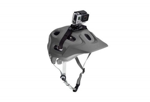 GoPro Vented Helmet Camera Strap Mount - black, one size