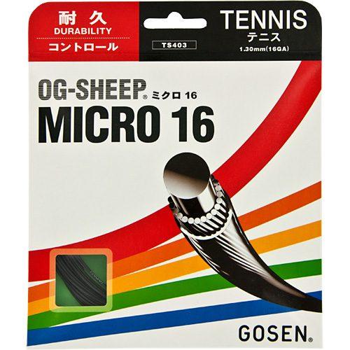Gosen OG-Sheep Micro 16: GOSEN Tennis String Packages