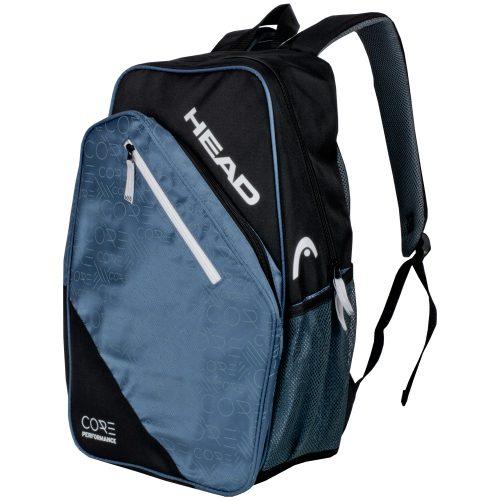 HEAD Core Black/White Backpack 2017: HEAD Tennis Bags