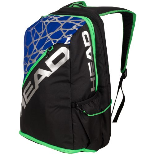 HEAD Racquetball Pro Backpack Black/Royal/Green: HEAD Racquetball Bags