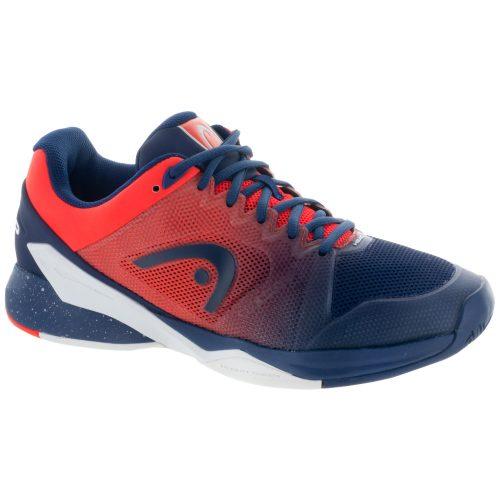 HEAD Revolt Pro 2.5: HEAD Men's Tennis Shoes Blue/Flame/Orange
