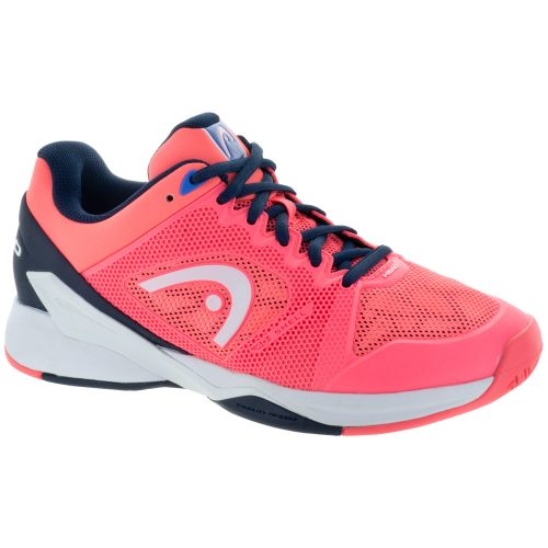 HEAD Revolt Pro 2.5: HEAD Women's Tennis Shoes Coral/Black/Iris