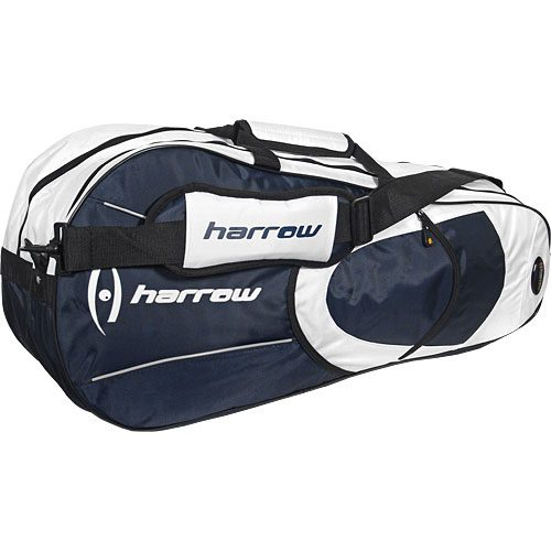 Harrow 6 Racquet Bag Navy: Harrow Squash Bags