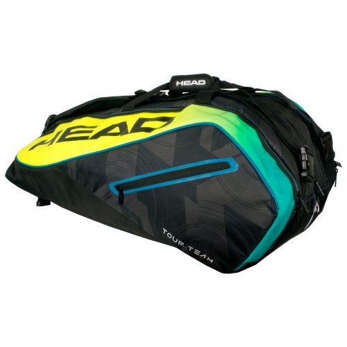 Head Extreme 12 Racquet Monstercombi 2017 Black/Yellow: HEAD Tennis Bags