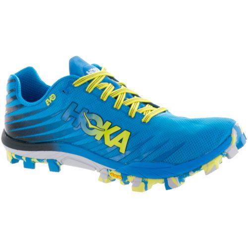 Hoka One One EVO JAWZ: Hoka One One Men's Running Shoes Cyan/Citrus
