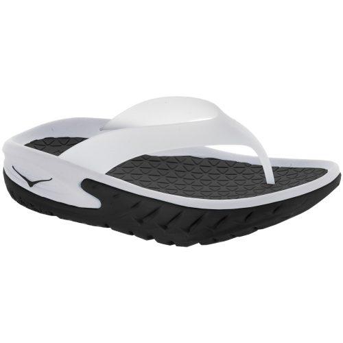Hoka One One Ora Recovery Flip: Hoka One One Women's Sandals & Slides Black/White