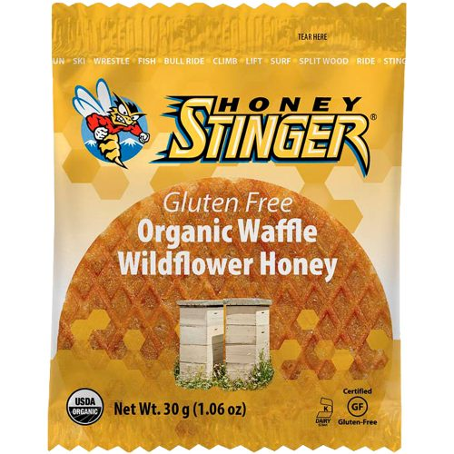 Honey Stinger Gluten Free Waffles 16 Pack: Honey Stinger Nutrition