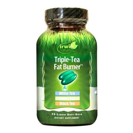 Irwin Naturals Triple-Tea Fat Burner, Softgels - 75 ea
