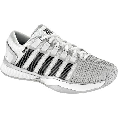 K-Swiss Hypercourt 2.0: K-Swiss Men's Tennis Shoes Glacier Grey/White/Silver