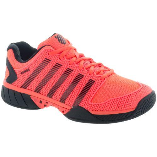 K-Swiss Hypercourt Express: K-Swiss Men's Tennis Shoes Neon Blaze/White/Black