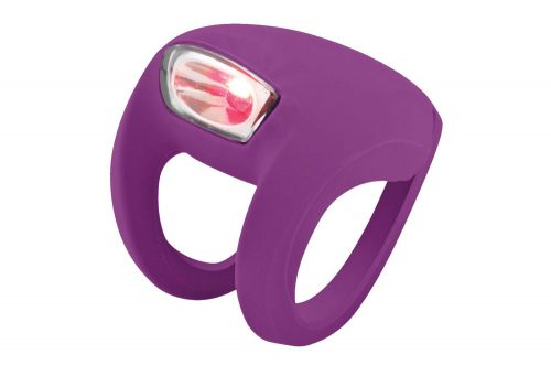 Knog Frog Strobe Rear Light - grape, one size