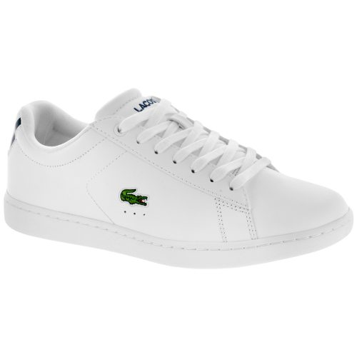 Lacoste Carnaby EVO BL 1: LACOSTE Women's Tennis Shoes White