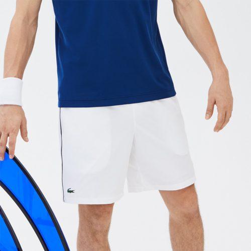 "Lacoste SPORT Stretch Woven 7"" Shorts: LACOSTE Men's Tennis Apparel"