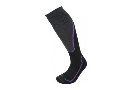 Lorpen T2 Ski Midweight Socks - Women's - black, small