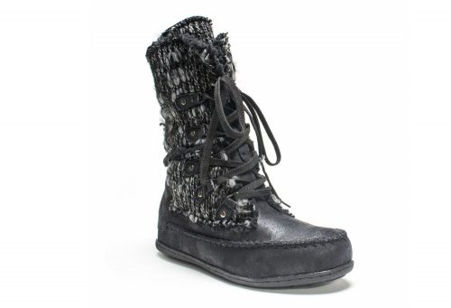 MUK LUKS Lilly Lace Up Boot - Women's - black, 6