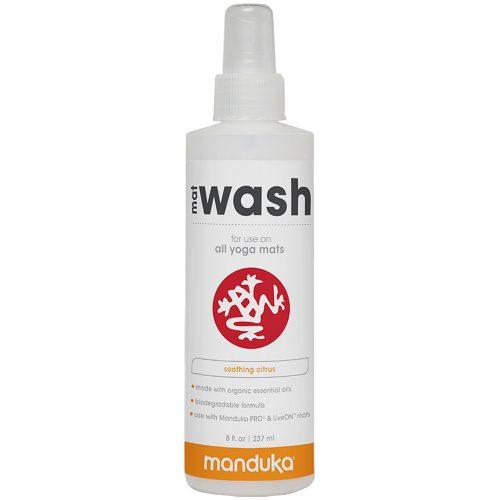 Manduka Mat Wash Renew Spray 8oz Bottle: Manduka Yoga Mats & Accessories