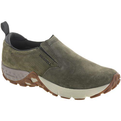 Merrell Jungle Moc AC+: Merrell Men's Walking Shoes Dusty Olive