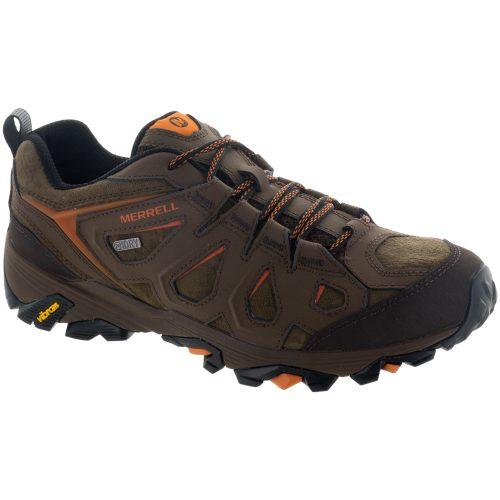 Merrell Moab FST Leather Waterproof: Merrell Men's Hiking Shoes Dark Earth