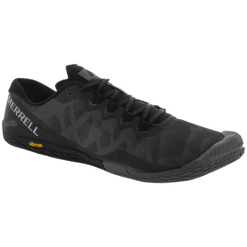 Merrell Vapor Glove 3: Merrell Men's Training Shoes Black/Silver