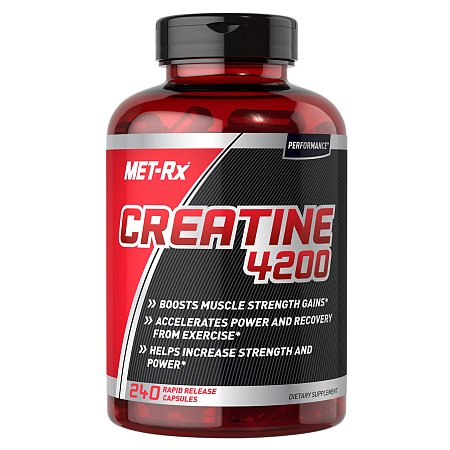 Met-Rx Creatine 4200, Capsules - 240 ea