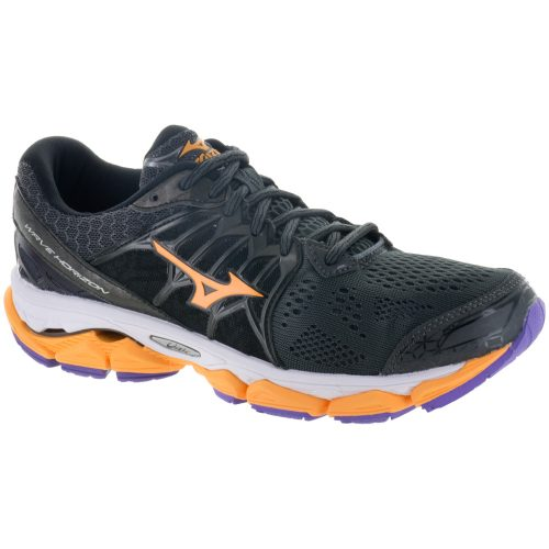 Mizuno Wave Horizon: Mizuno Women's Running Shoes Dark Shadow/Orange Pop/Passion Flower