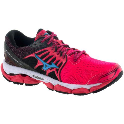Mizuno Wave Horizon: Mizuno Women's Running Shoes Diva Pink/Black/Atomic Blue