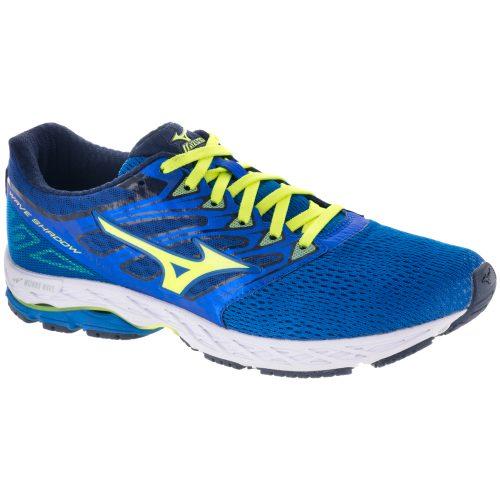Mizuno Wave Shadow: Mizuno Men's Running Shoes Directoire Blue/Safety Yellow/Blue Depths