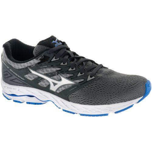 Mizuno Wave Shadow: Mizuno Men's Running Shoes Iron gate/Silver/Blue Jewel