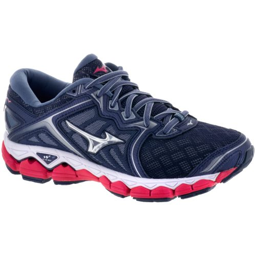Mizuno Wave Sky: Mizuno Women's Running Shoes Black/Silver