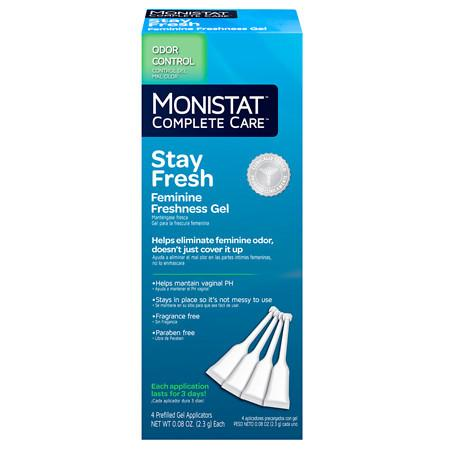 Monistat Complete Care Stay Fresh Feminine Freshness Gel - 0.08 oz.