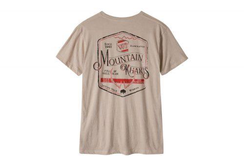 Mountain Khakis Genuine MK T-Shirt - Men's - freestone heather, small