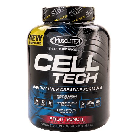 Muscletech Cell-Tech Pro Series Creatine Fruit Punch - 96 oz.
