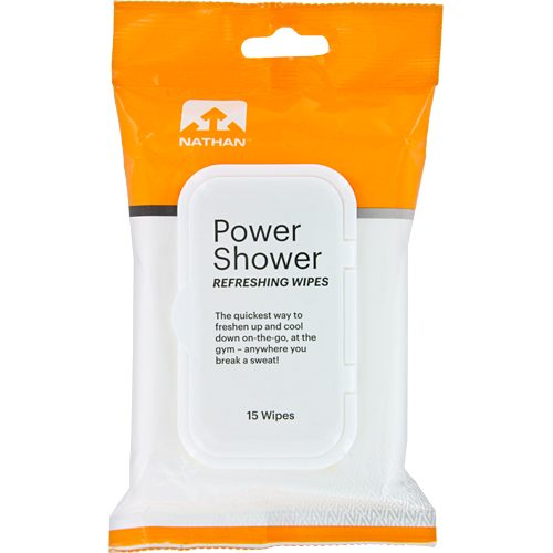 Nathan Power Shower Body Wipes 15 Pack: Nathan Personal Care