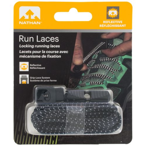 Nathan Run Laces Reflective: Nathan Shoe Care