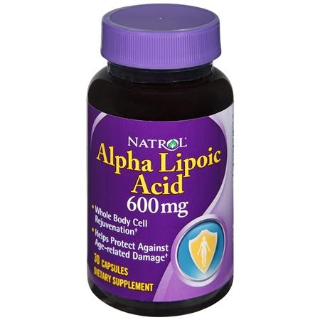 Natrol Alpha Lipoic Acid 600 mg - 30 ea