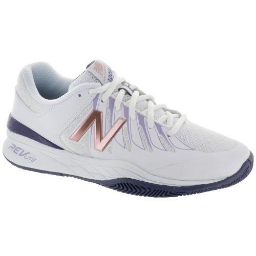 New Balance 1006: New Balance Women's Tennis Shoes White/Deep Cosmic Sky