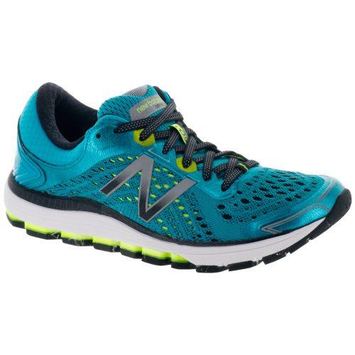 New Balance 1260v7: New Balance Women's Running Shoes Pisces Blue/Lime Glo