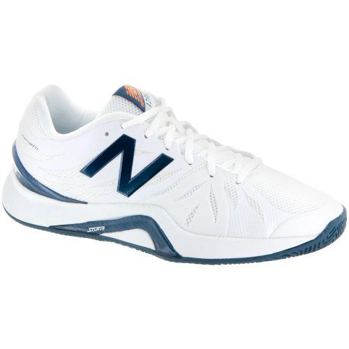 New Balance 1296v2: New Balance Men's Tennis Shoes White/Blue