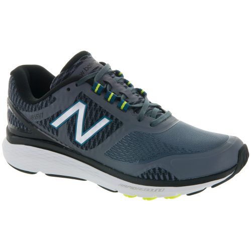 New Balance 1865: New Balance Men's Walking Shoes Gray/Black