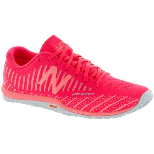 New Balance 20v7: New Balance Women's Training Shoes Vivid Coral/Fiji/Artic Fox